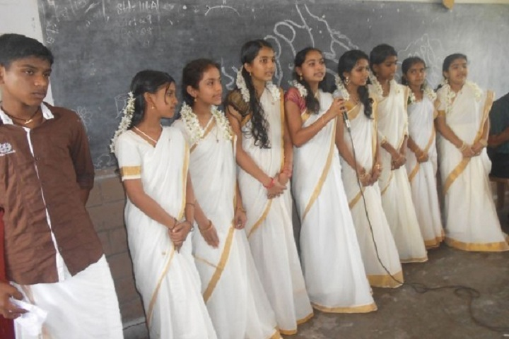 Gracious English Medium School-Onam celebration