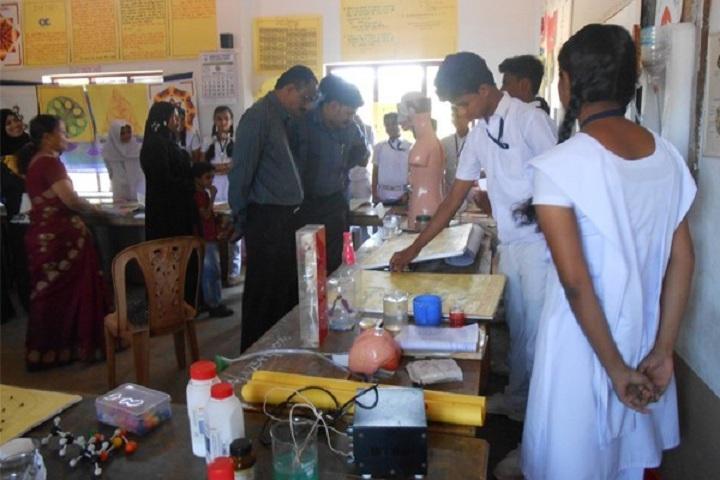 Gracious English Medium School-Science exhibition