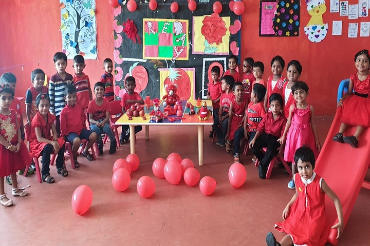 Guardian Public School-Red day celebrations