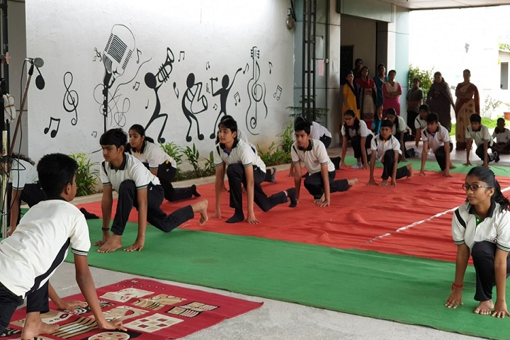 Guardian Public School-Yoga