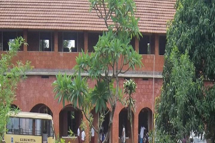 Guru Nitya English Medium School- School building