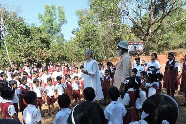 Guru Nitya English Medium School- School tour
