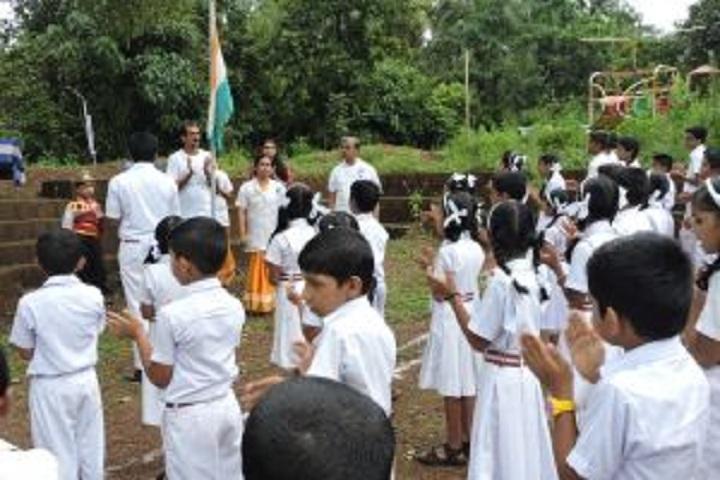 Guru Nitya English Medium School-Independence day