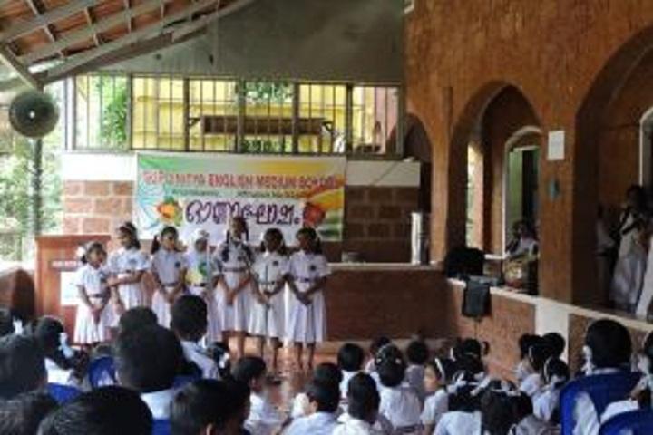 Guru Nitya English Medium School-Singing