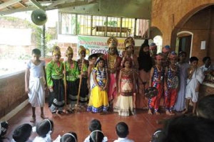 Guru Nitya English Medium School-Skit