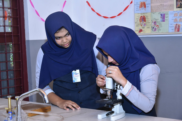 Hira Residential School-Biology Lab