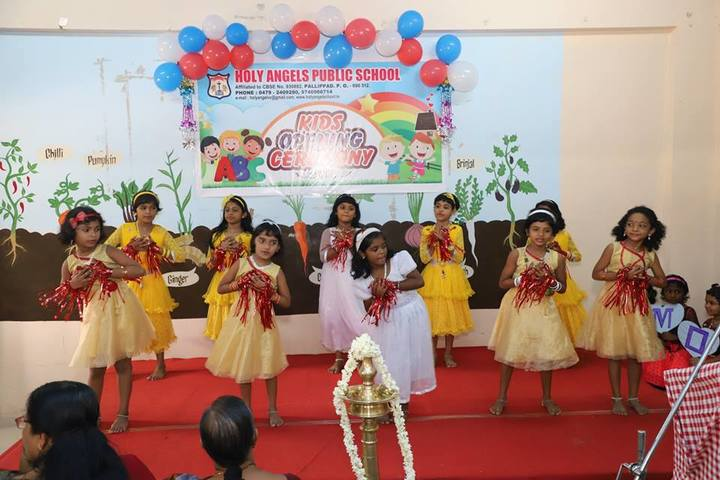 Holy Angels Public School-Kids Opening Ceremony