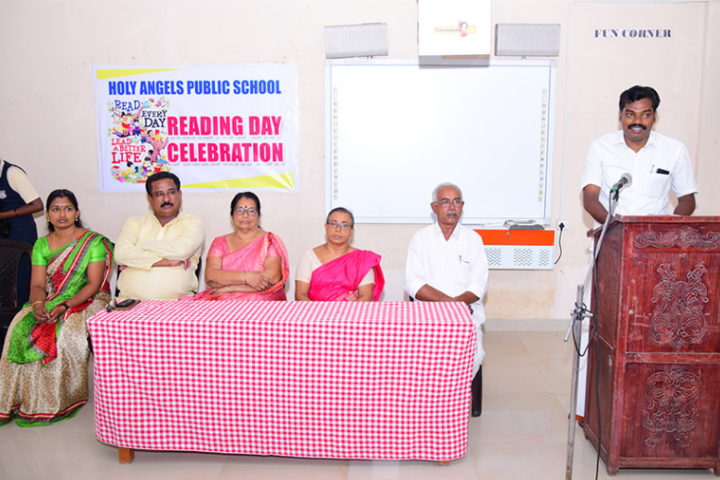 Holy Angels Public School-Reading Day Celebrations