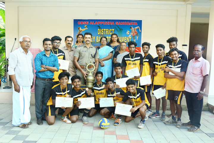 Holy Angels Public School-Vollyball Champions