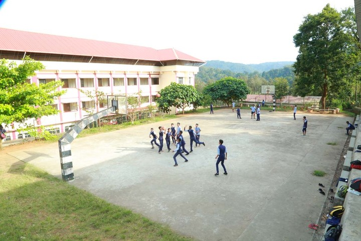 Holy Cross Convent School-Basket Ball Court