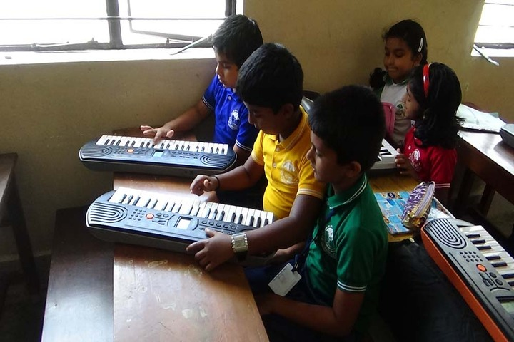 Holy Cross Convent School-Music Room