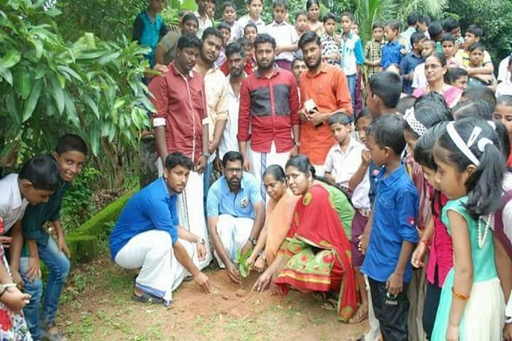 Holy Cross Public School-Tree Plantation