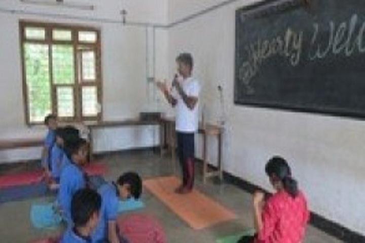 Holy Cross School-Yoga