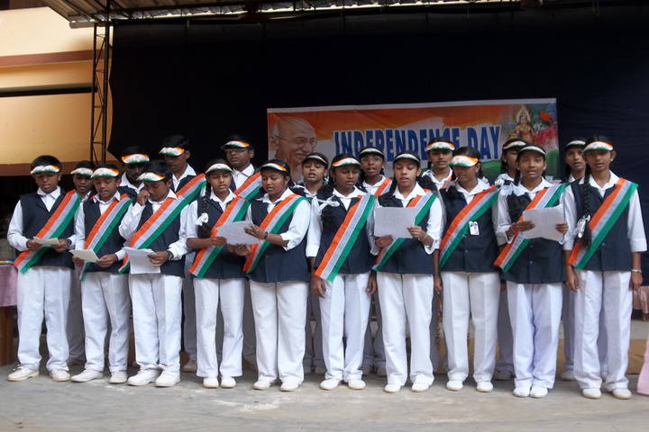 Holy Family Public School-Independence Day