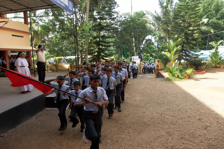 Holy Family Public School-Sports Day