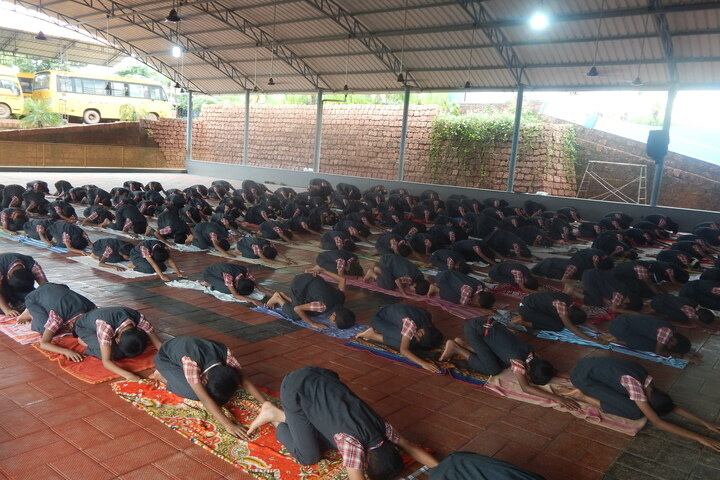 Holy Family Convent Public Scool-Yoga
