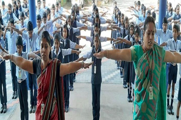 Holy India Foundation School-Yoga