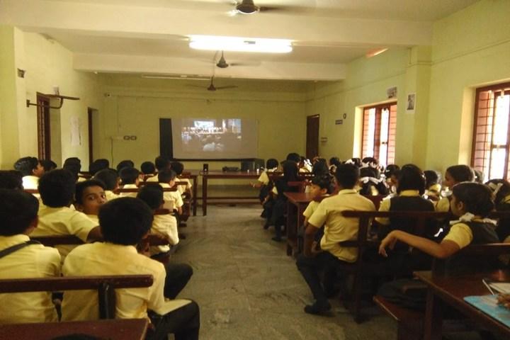 Holy Trinity Vidya Bhavan-Audio Visual Room