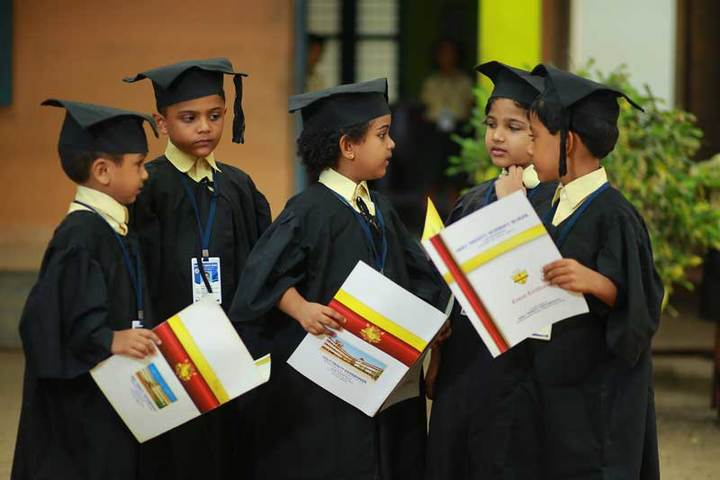 Holy Trinity Vidya Bhavan-Graduation Day