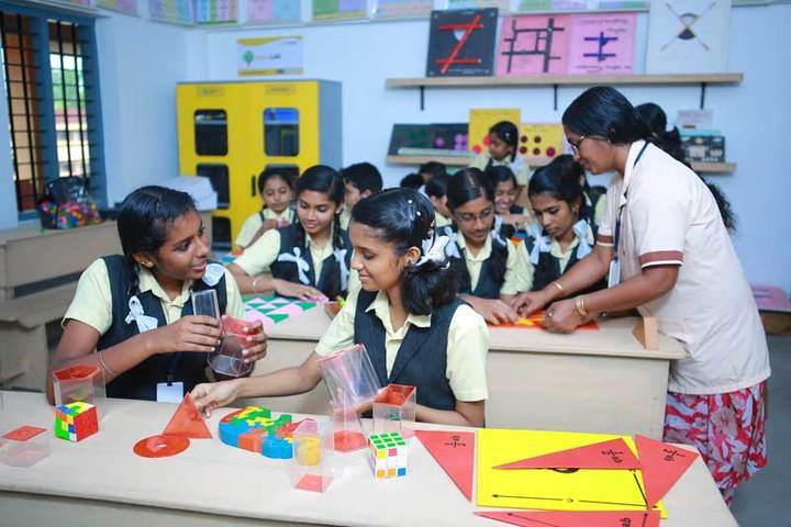 Holy Trinity Vidya Bhavan-Maths Lab