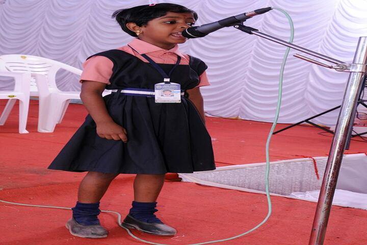 Huda Trust Public School-Singing Competiton