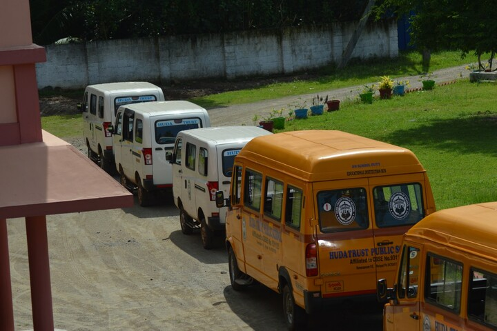 Huda Trust Public School-Transport