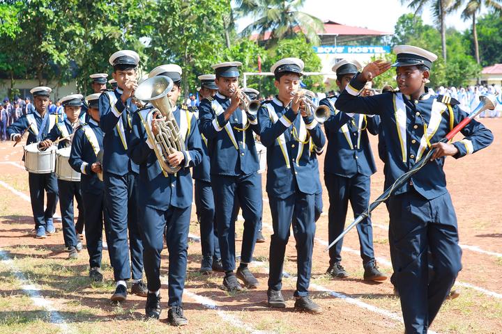 I E S Public School-Band Group