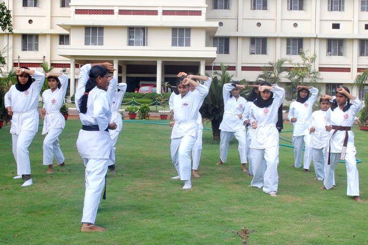 I E S Public School-Karate
