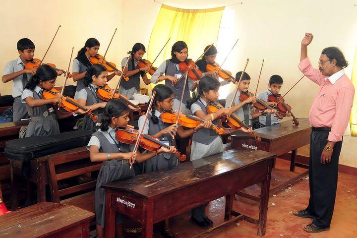 I E S Public School-Violin Class