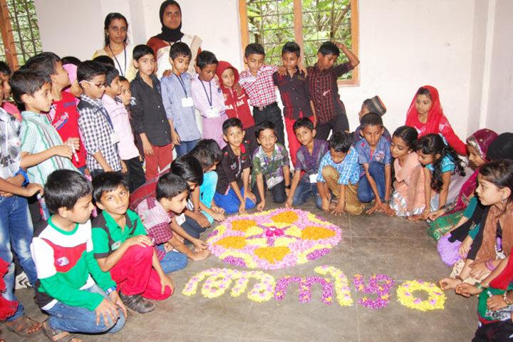 I G English School-Onam Celebrations