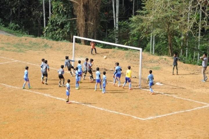 Ideal English School-Football Court