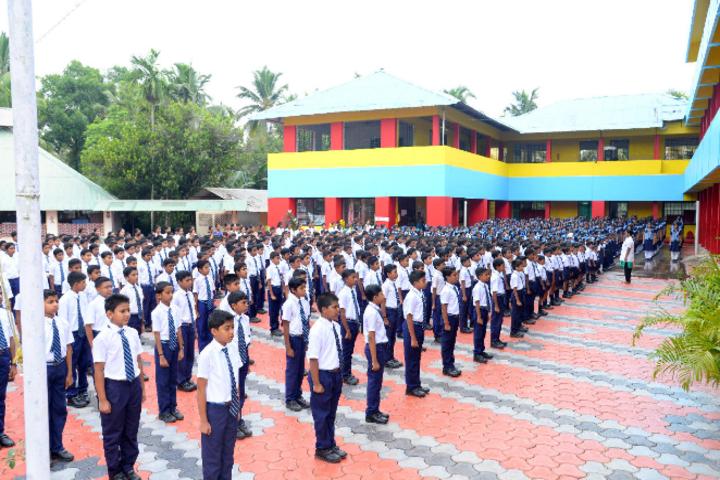 Indian Public School-Assembly
