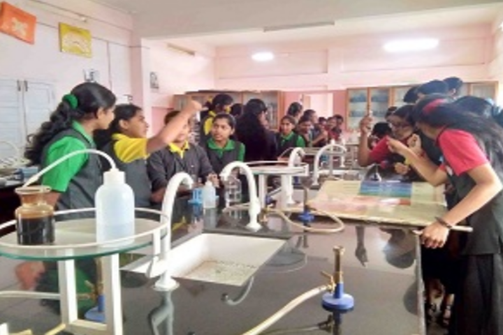 Infant Jesus English Medium School-Chemistry Lab