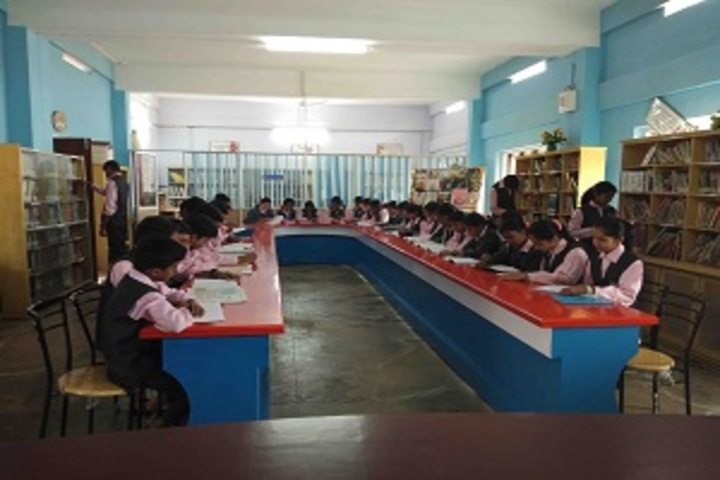 Infant Jesus English Medium School-Library