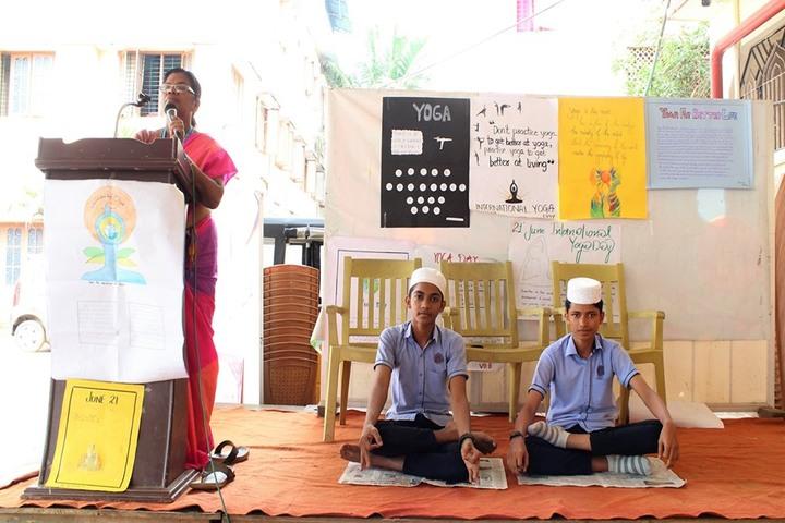 Isha Ath Public School-International Yoga Day