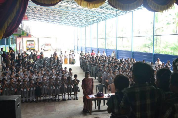 J and J English Medium School-Assembly