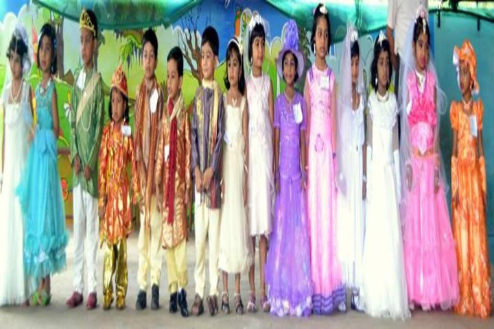 J and J English Medium School-Fancy Dress Competition