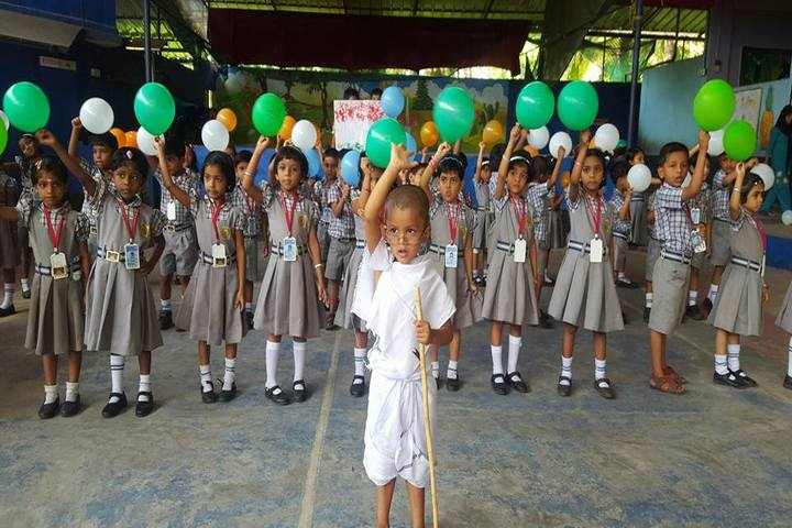 J and J English Medium School-Independence Day