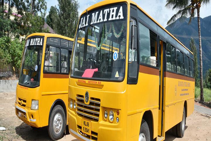 Jai Matha Public School-Transport
