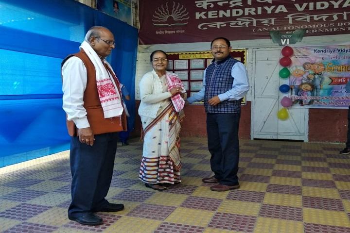 Kendriya Vidyalaya-Grand parents day