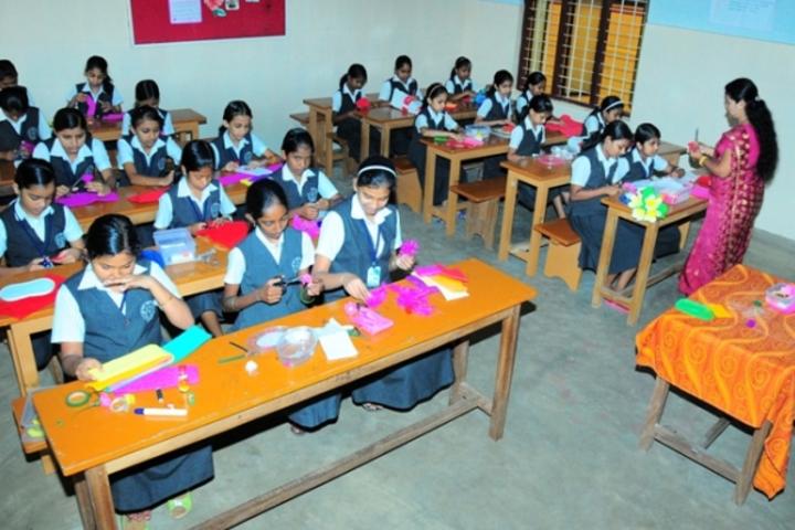 Jai Rani Public School-Art and Craft