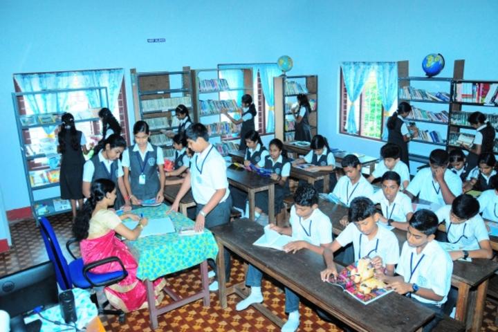 Jai Rani Public School-Library