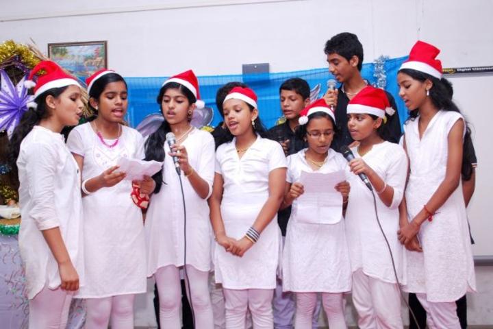 Jai Rani Sabs Public Scool-Carol Singing