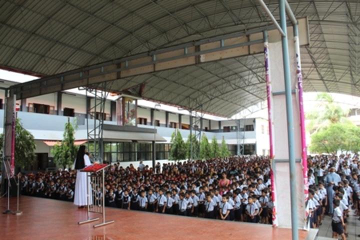 Jaimatha English Medium School-Assembly