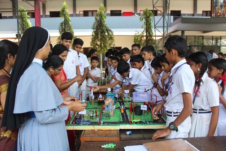 Jaimatha English Medium School-Science Exhibition