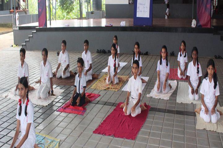 Jaimatha English Medium School-Yoga