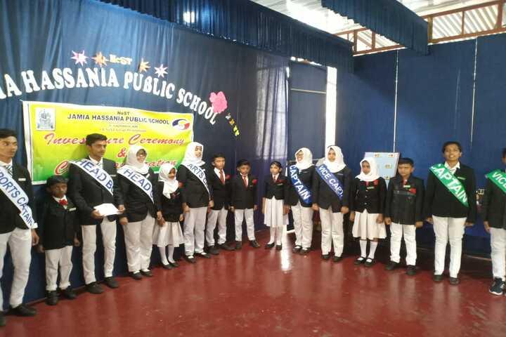 Jamia Hassania Public School-Investiture Ceremony