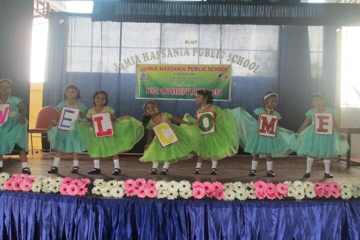 Jamia Hassania Public School-Orientation
