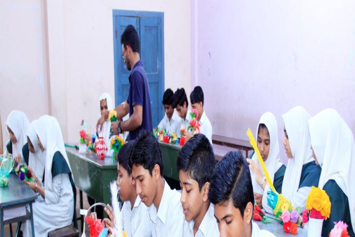 Jamia Salafiya English School-Art Class