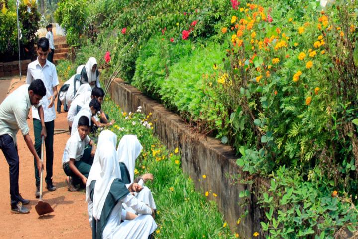 Jamia Salafiya English School-Gardening
